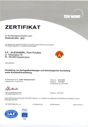 ZP Alexander PCA-QMS18-DE